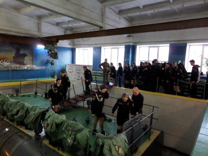 31.01.2020: Экскурсия в Учебный центр Северного флота