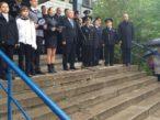 Открытие мемориальной доски Т.А. Апакидзе