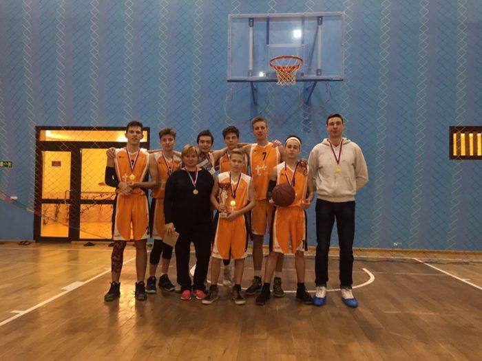 1 место в финале муниципального этапа чемпионата школьной баскетбольной лиги «КЭС-БАСКЕТ» сезона 2018-2019 г.