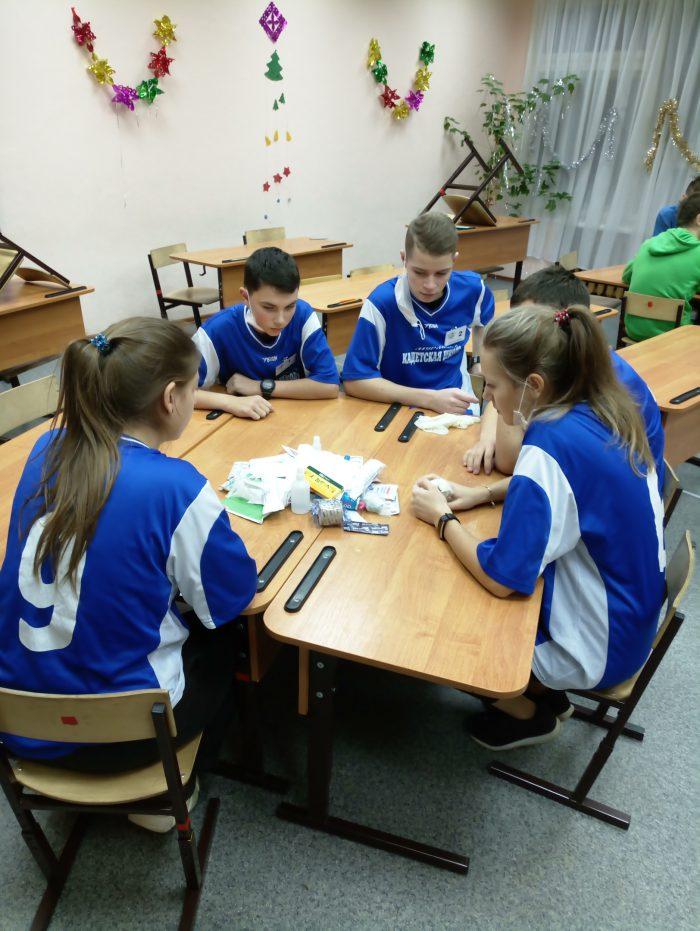 XII городские соревнования обучающихся образовательных организаций г. Мурманска «Первая помощь»