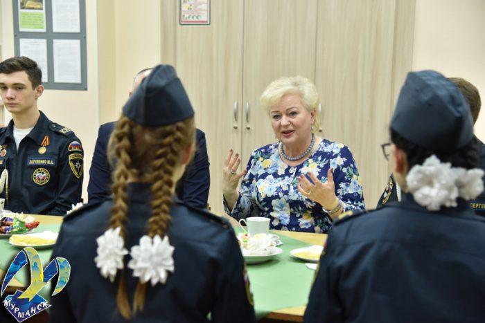 Мурманские кадеты — лучшие! Встреча с главой муниципального образования город Мурманск Тамарой Ивановной Прямиковой
